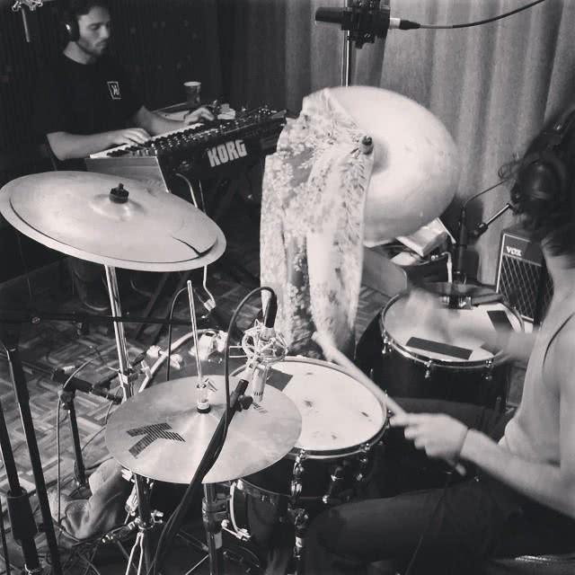 Plain in the studio